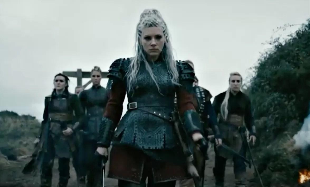 Vikings shield maidens