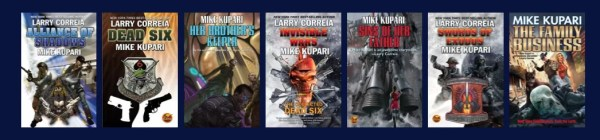 Mike Kupari has written several novels over the last few years, all of them action-packed.