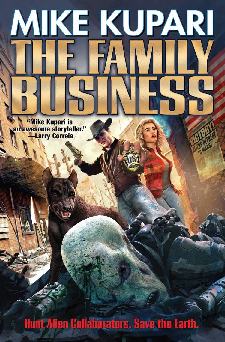 The Family Businss: a post-apocalyptic shoot 'em up from novelist Mike Kupari