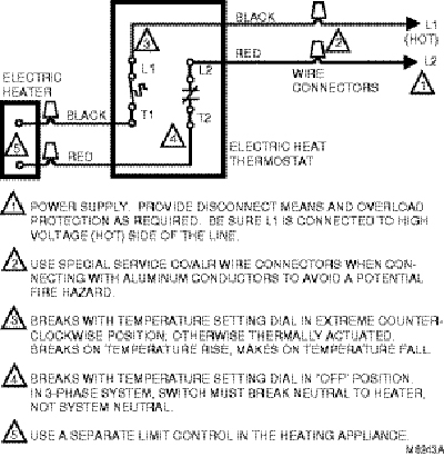 honeywell t4398a1021 wiring?resize=400%2C411 baseboard heater thermostat wiring diagram the best wiring heat tape wiring diagram at alyssarenee.co