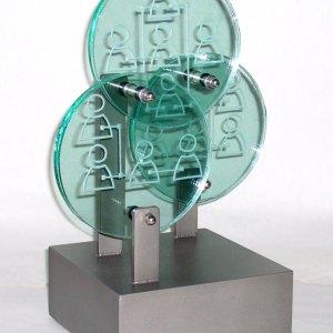 rolls-royce-community-trophy-award-glass-steel-sculpture