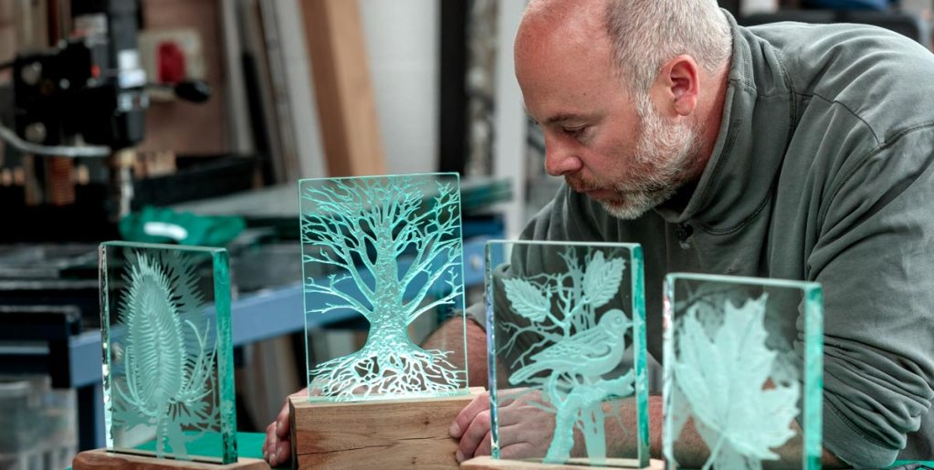 Glass Art Gifts as wedding presents