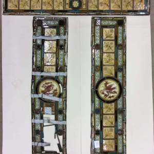 Reclaimed Antique Stained Glass to repair restore adapt for new windows