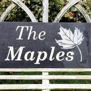 TheMaples-slate-plaque