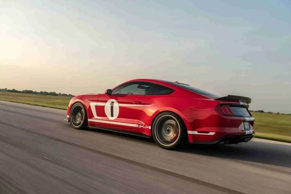 808-HP Mustang Hennessey American Speed Car