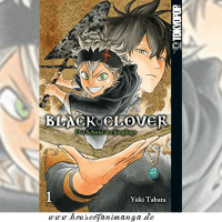 Manga Review: Black Clover Band 1