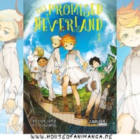 Manga Review: The Promised Neverland Band 1