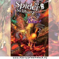 Light Novel Review: So I'm a Spider, So What? Band 2