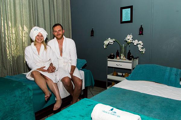 Couple at Asante Spa Polokwane
