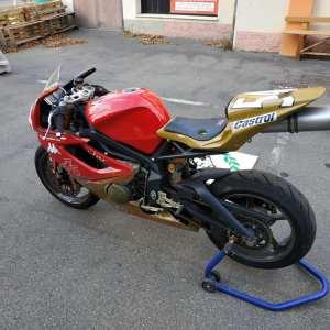 TRIUMPH DAYTONA 675 Trofeo Campione d'Italia 2008