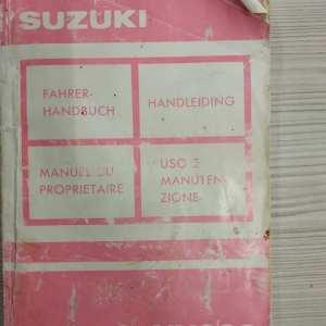 SUZUKI VX 800 LIBRETTO USO E MANUTENZIONE