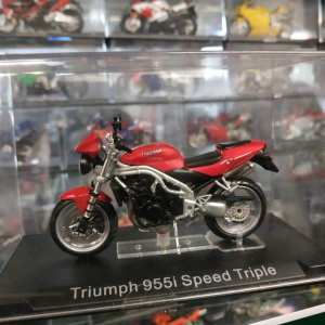 MODELLINO TRIUMPH SPEED TRIPLE 955I