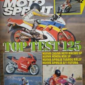 MOTO SPRINT n.10 anno 1991