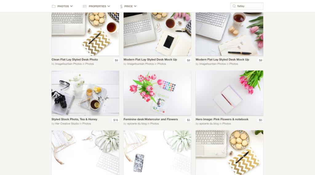 Creative Market - Desktop & Flat lay Photography Stock Photos