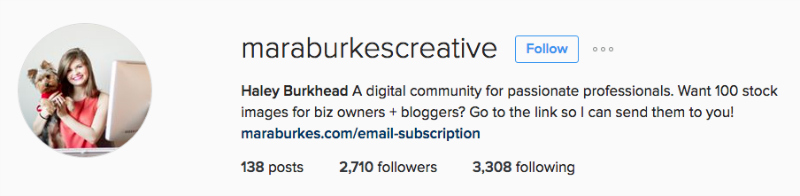 haley burkhead instagram maraburkscreative