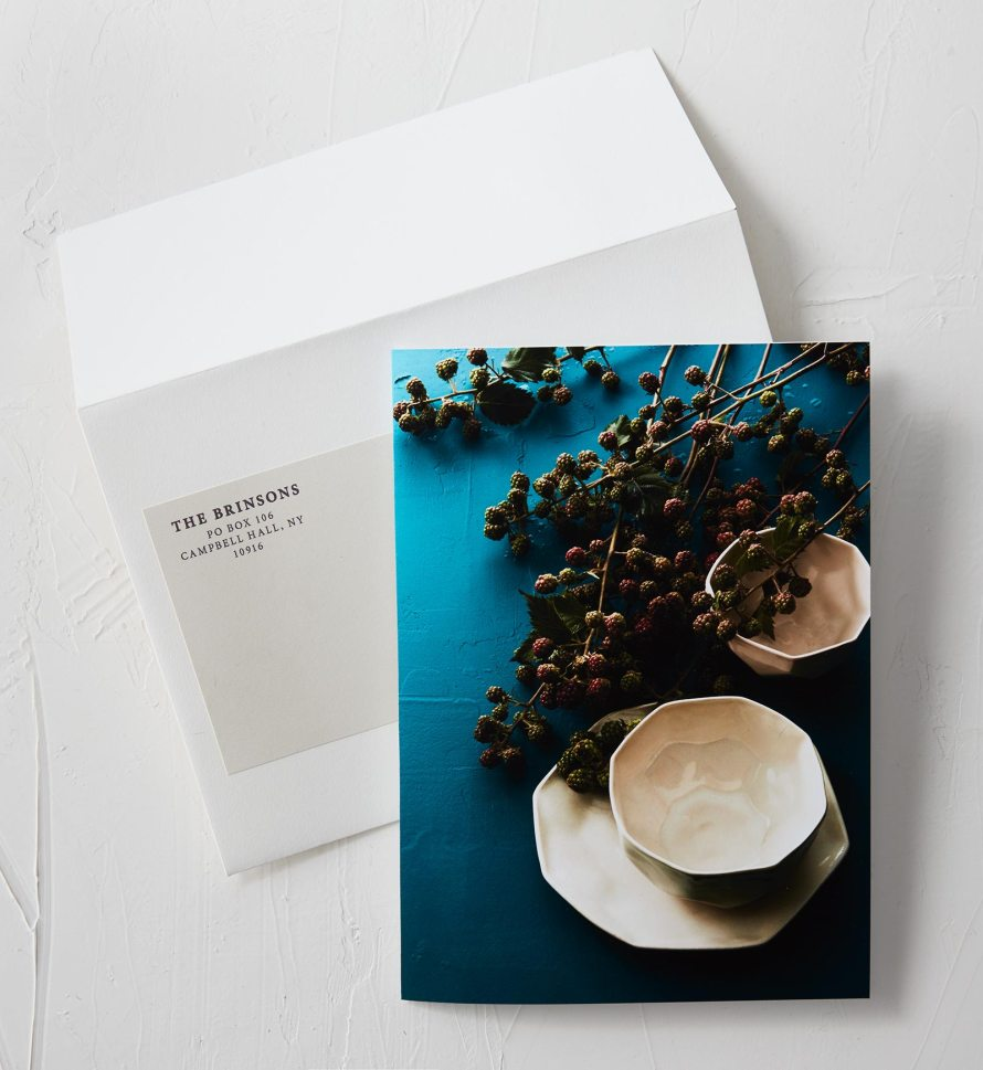 Thank you cards. Each image is customized to the recipient.