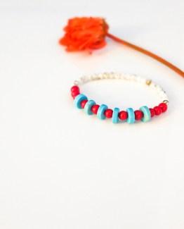 Sade Series – Coral Gemstone Bracelet