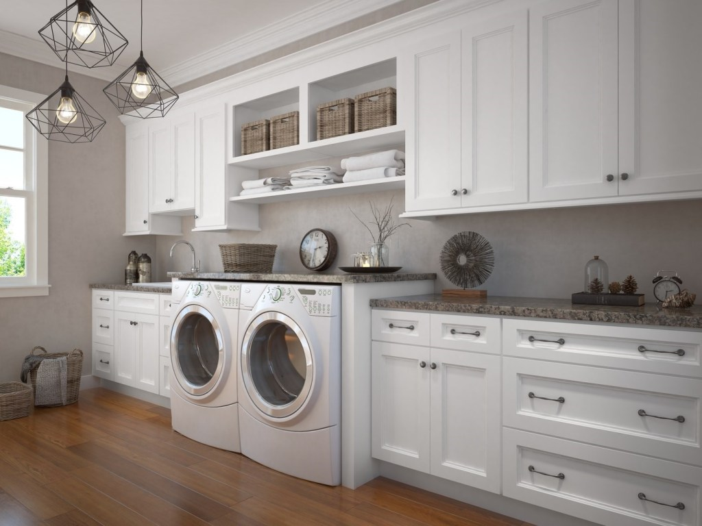 Uptown White Kitchen Cabinet Door Style