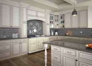 Signature Pearl Kitchen Cabinet - White Color Painting