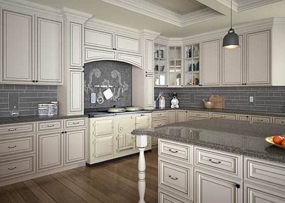 Signature Pearl Kitchen Cabinet U2013 White Color Painting