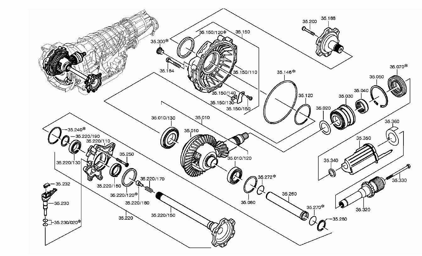 Audi A8 Transmission Diagram