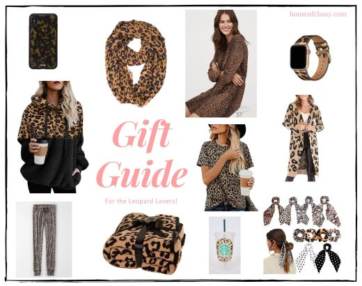 Leopard Print Gift Guide