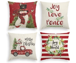 4-pack-christmas-pillow-covers