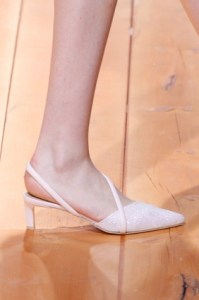 White Pointed toes
