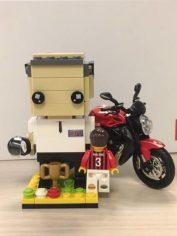 Guida l'azienda con la stessa passione con cui guida la sua moto! Paolo -General Manager-