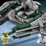 75168 Jedi Starfighter di Yoda