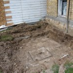 Our existing septic tank.