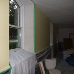 One wall painted!