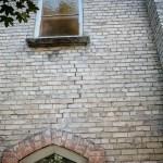brickwork - under window