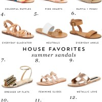 House Favorites: Summer Sandals