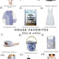 House Favorites: Blue & White