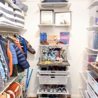 The Boys' Closet Makeover by the NEAT Method (It's So Good!)
