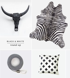 favorite things roundup black and white