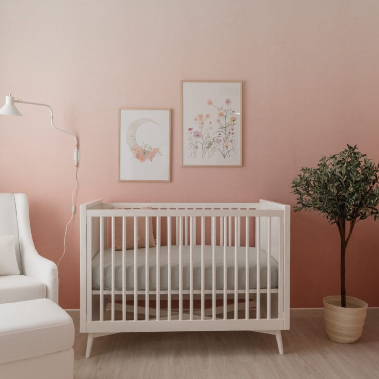 Ombre Wallpaper Nursery
