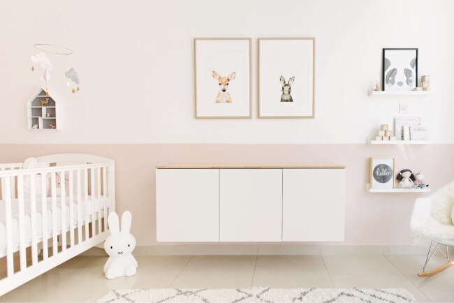 baby-girl-nursery-pink-grey1