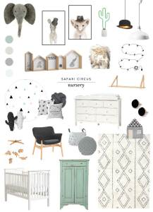 Shop the Look | Safari Circus Nursery