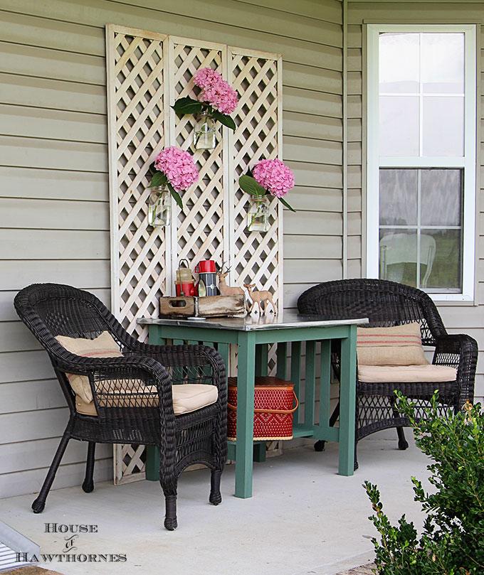 Baby Got Back Porch Ideas - House of Hawthornes on Diy Back Patio Ideas id=89618