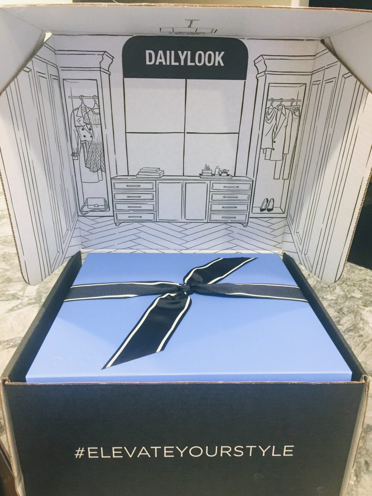 DAILYLOOK BOX REVIEW: SPRING FASHION featured by top New Jersey fashion blog, House of Leo: image of the the new Dailylook box
