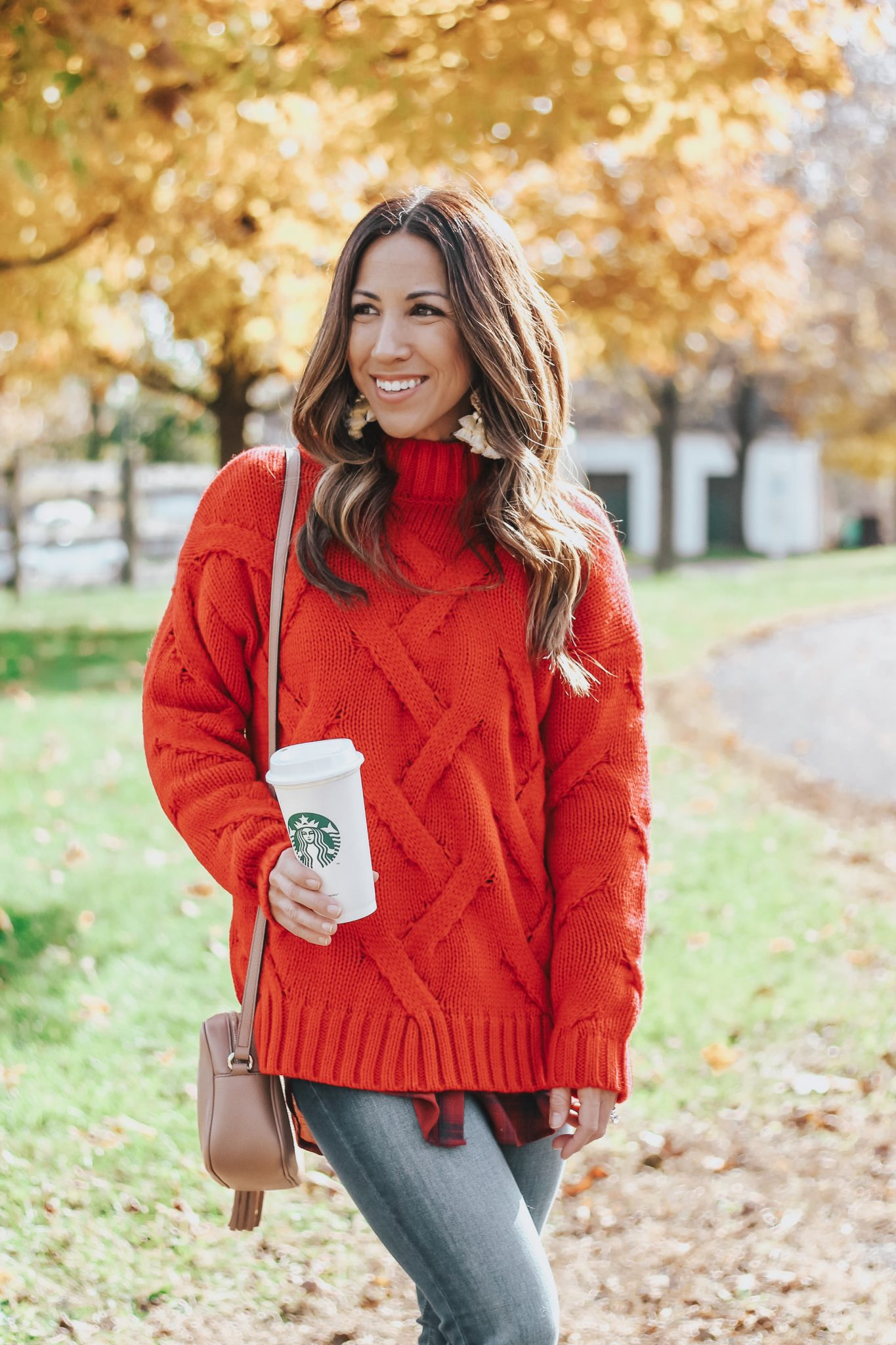 the prettiest red holiday sweater under $50!