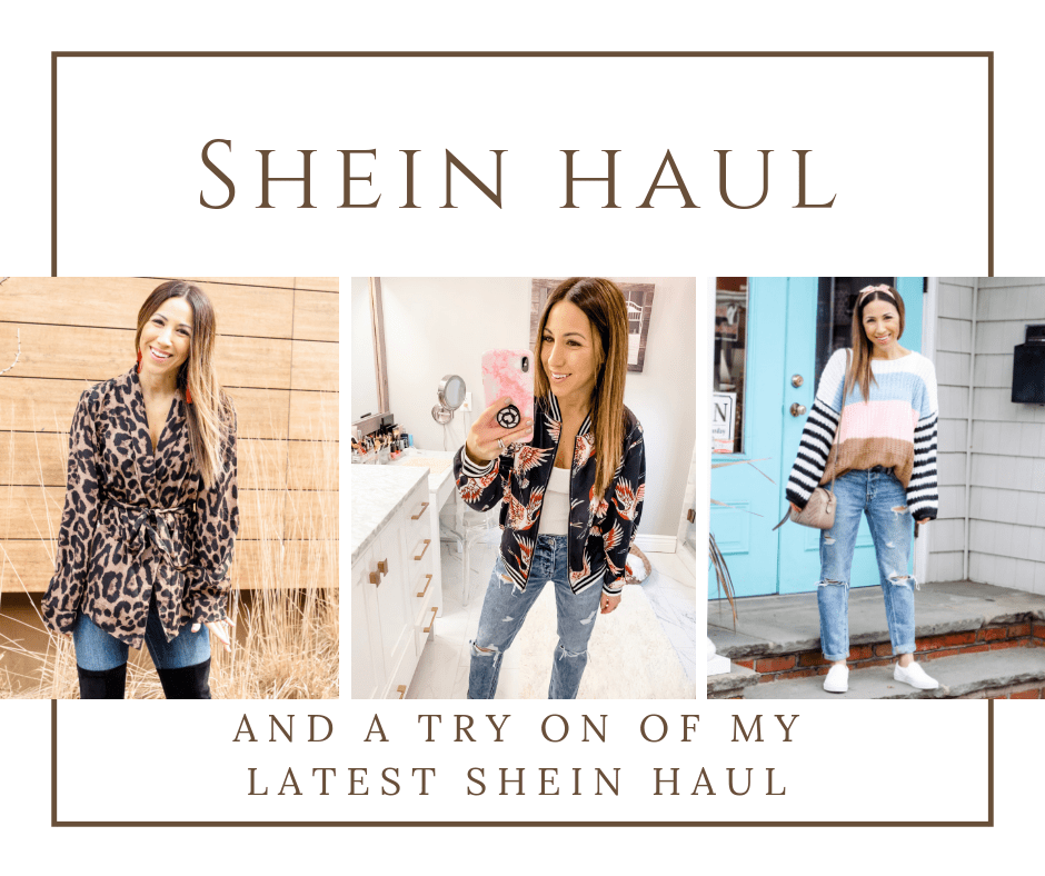 SheIn Haul by top US fashion blog, House of Leo Blog