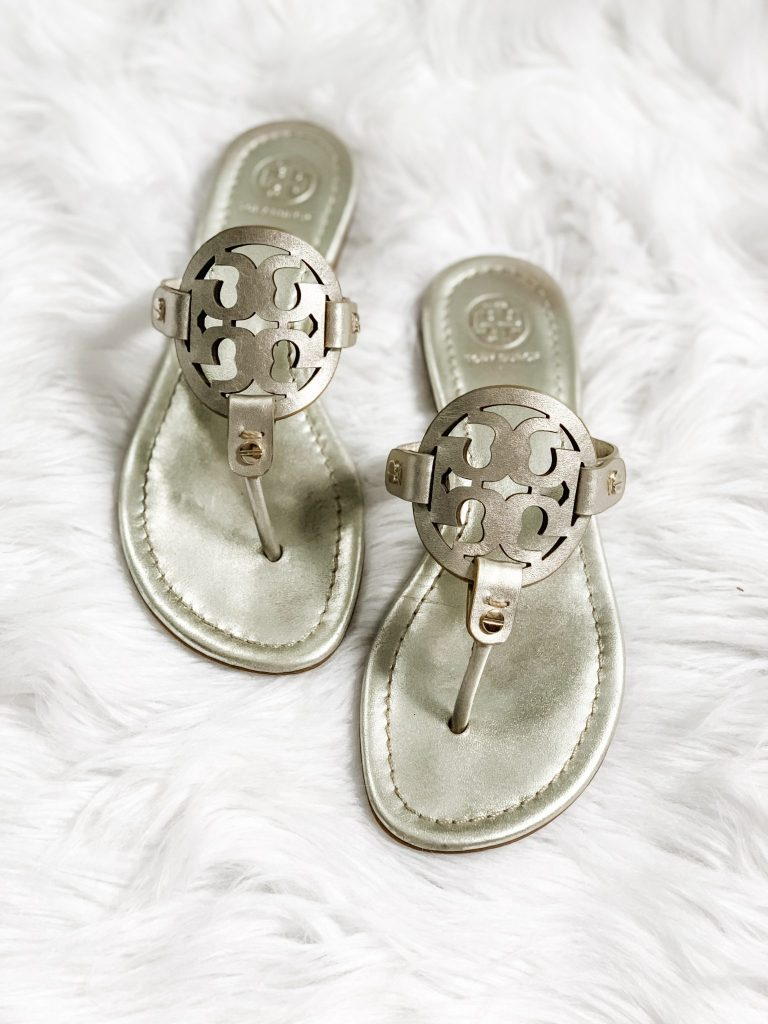 Spring Shoe Review by top US fashion blog, House of Leo Blog: image of Tory Burch Millers