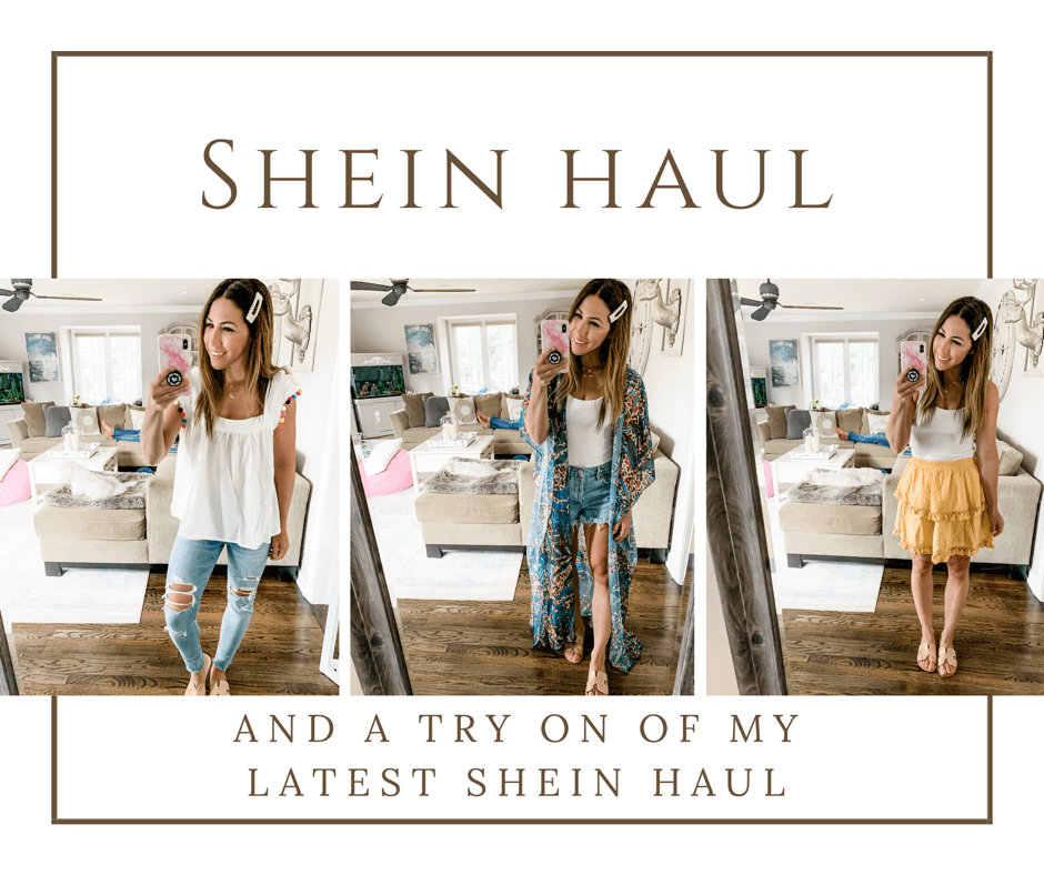 July SheIn Haul by top US fashion blog, House of Leo Blog