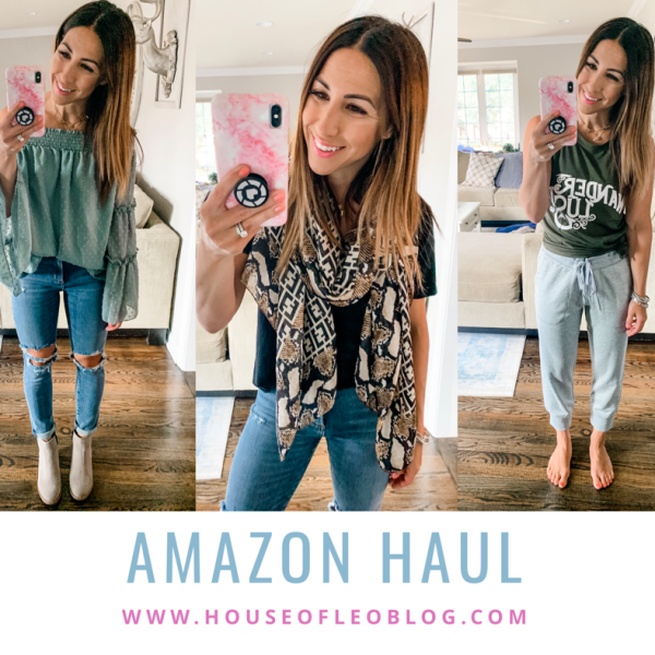 Amazon Haul July by top US fashion blog, House of Leo Blog