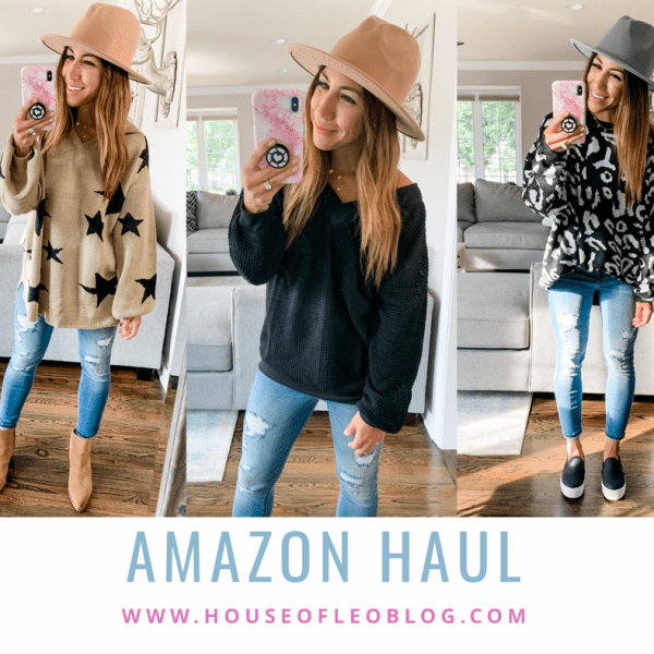 Amazon Haul August by top US fashion blog, House of Leo Blog