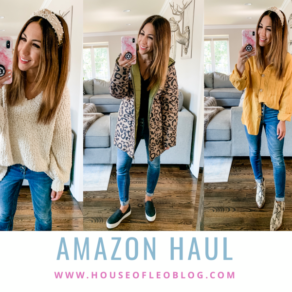 Amazon Haul September by top US fashion blog, House of Leo Blog