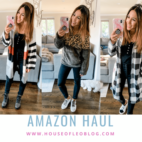 Amazon Haul October by top US fashion blog, House of Leo Blog